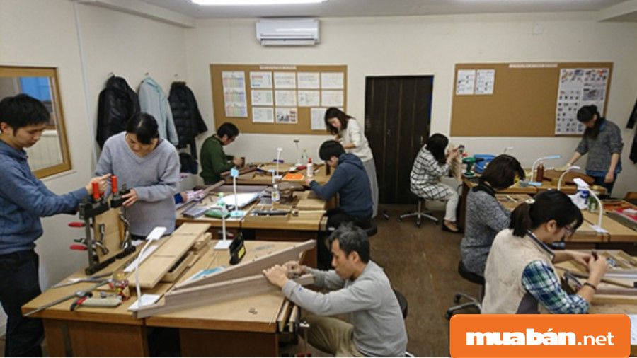 Thợ mộc được đào tạo sẽ chiếm nhiều ưu thế hơn trong quá trình phát triển nghề.