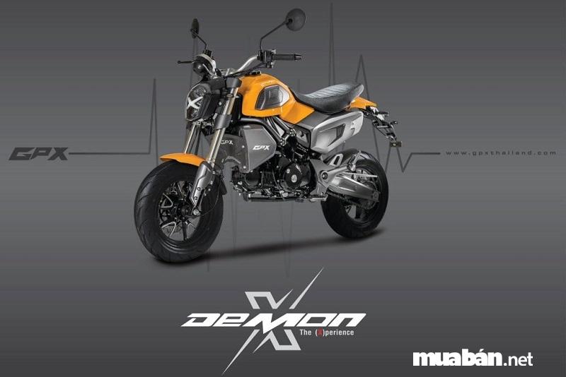 GPX-Demon-X-125 là dòng xe minibike GPX Demon X 125 đời mới thu hút bất cứ ai ngay từ cái nhìn đầu tiên.