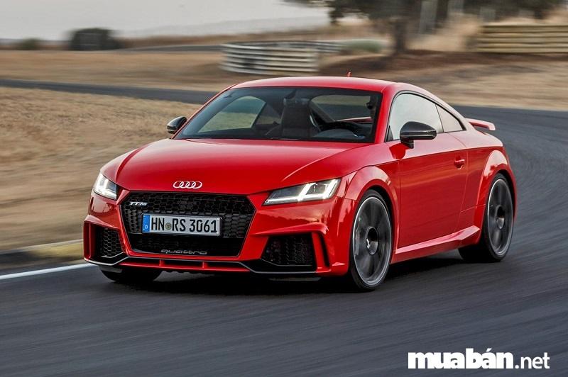 Audi TT RS - mẫu xe thể thao đình đám mê hoặc dân mê tốc độ.