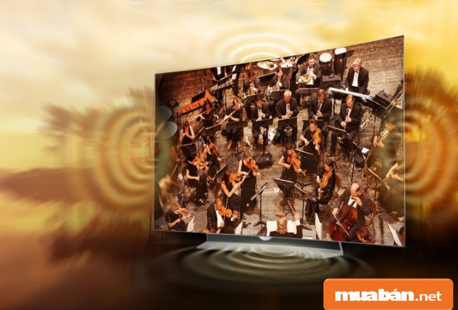 LG Oled EG920T giúp bạn có những trải nghiệm âm thanh như trong rạp với 2 loa có công suất 20W.