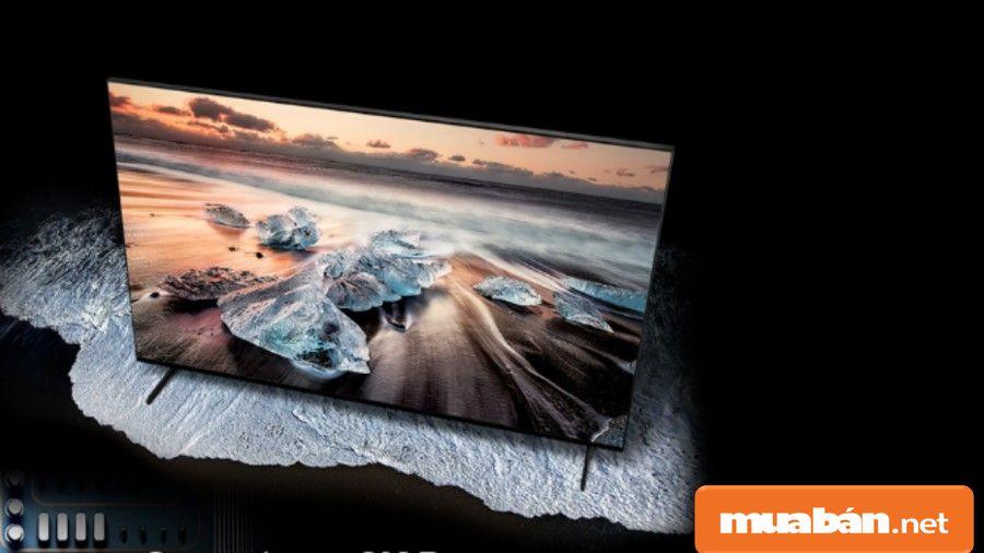 Các công nghệ mới được ứng dụng trên QLED Samsung 8K QA65Q900R .