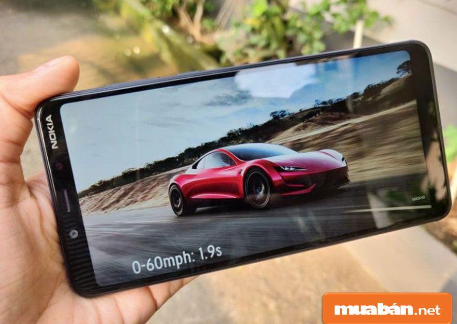 Nokia 3.1 Plus với Android 8 Oreo, Ram 3Gb, bộ nhớ trong 32Gb giúp bạn lưu giữ các dữ liệu và hình ảnh thoải mái.