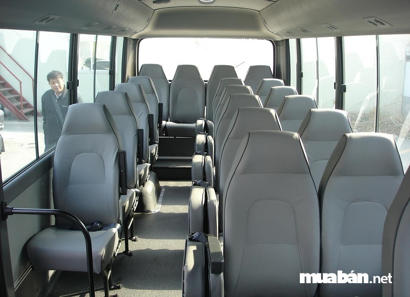 Xe du lịch 29 chỗ Hyundai County