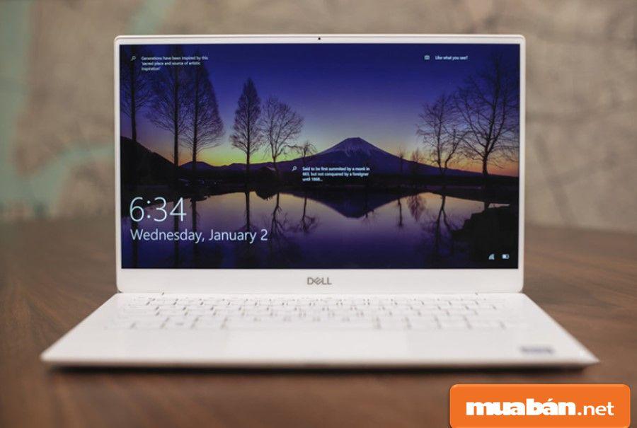 Dell XPS 13 được thiết kế với công nghệ viền siêu mỏng Infinity Edge truyền thống.