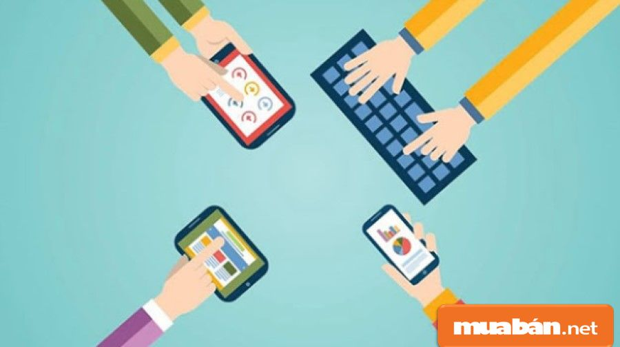 Đăng thông tin tuyển dụng quản lý cửa hàng trên các trang website hoặc mạng xã hội.