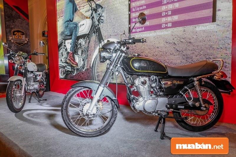 Husky Classic 125 là dòng xe mô tô 125cc của SYM từ lâu đã được nhiều biker biết đến là một mẫu xe moto giá rẻ.