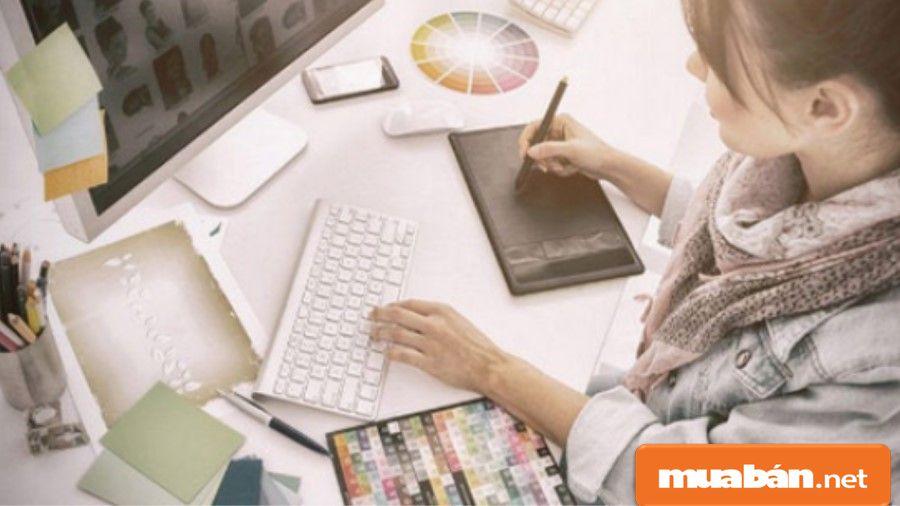 Bạn hãy thể hiện những ý tưởng sáng tạo riêng của mình trong các bản thiết kế.
