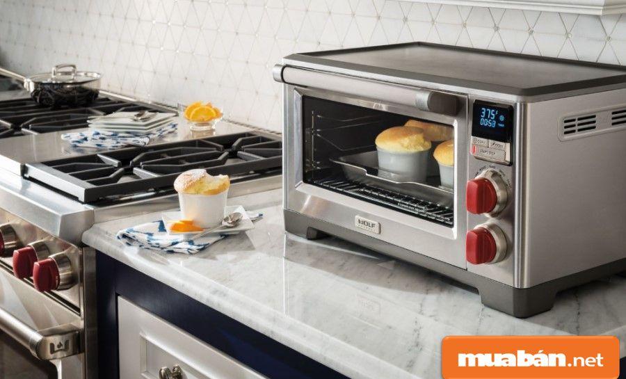 Lò nướng cao cấp với nhiều chức năng giúp bạn tiết kiệm được nhiều thời gian trong bếp.
