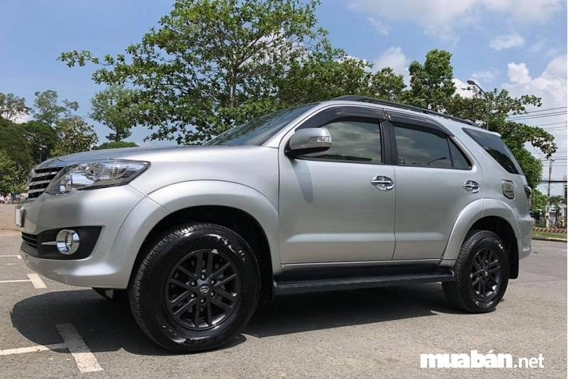 Ngoại thất Toyota Fortuner bản 2015