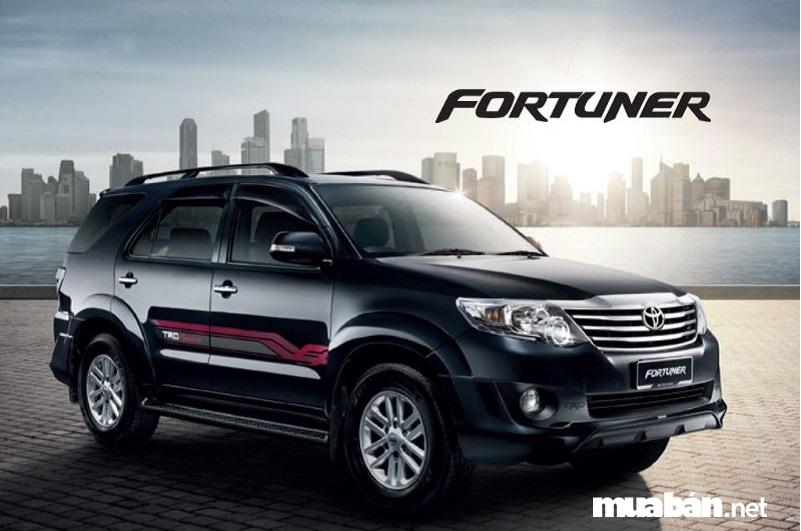 Các phiên bản của Toyota Fortuner đời 2015