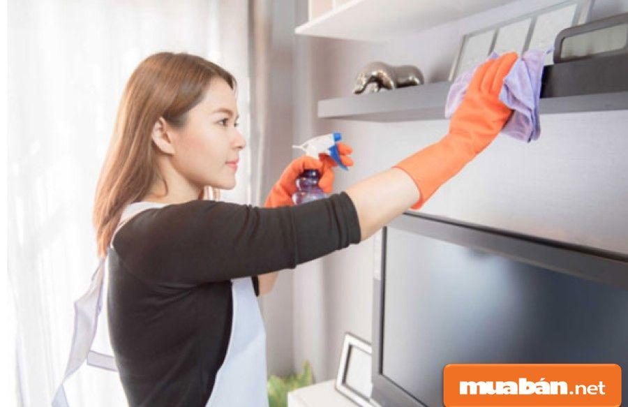 Hình thức dịch vụ này chỉ phù hợp với những gia đình cần thuê người dọn dẹp, nấu ăn, giặt giũ...