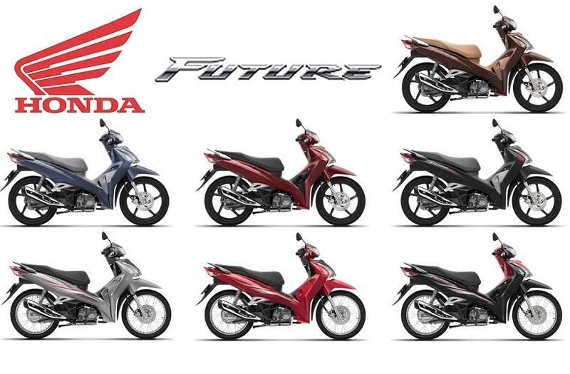 Sau gần 20 năm xuất hiện tại Việt Nam, Honda Future trải qua rất nhiều bản nâng cấp khác nhau.