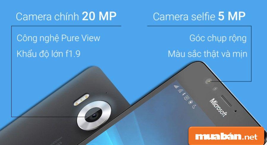 Camera Của Lumia 950 Có Độ Phân Giải Cao.