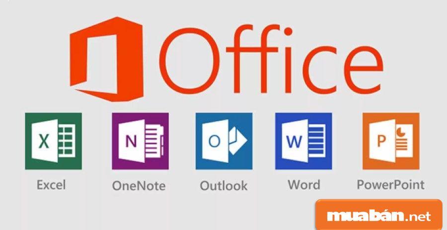 Thiết bị cung cấp sẵn nhiều công cụ Office cho bạn tiện sử dụng.