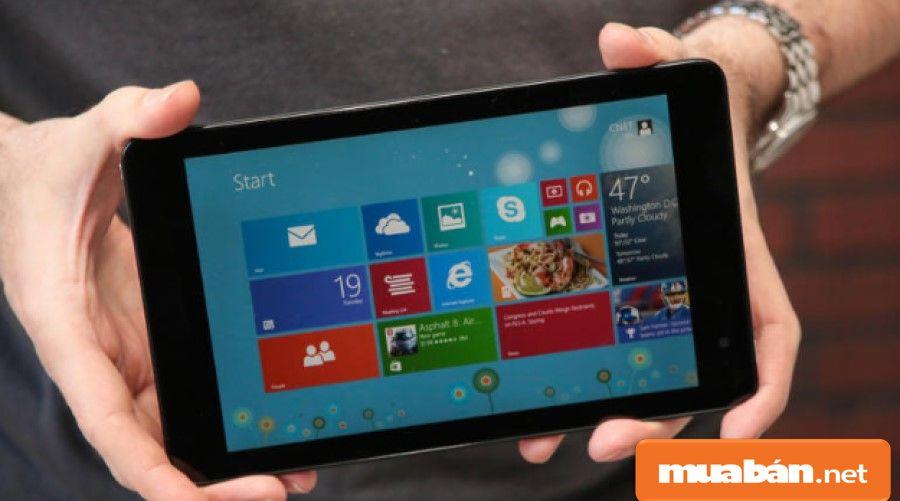 Bạn hãy lựa chọn thiết bị có kích thước màn hình phù hợp với nhu cầu sử dụng của mình.