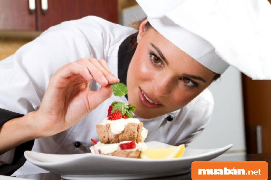 Phụ bếp là vị trí thấp nhất trong căn bếp.