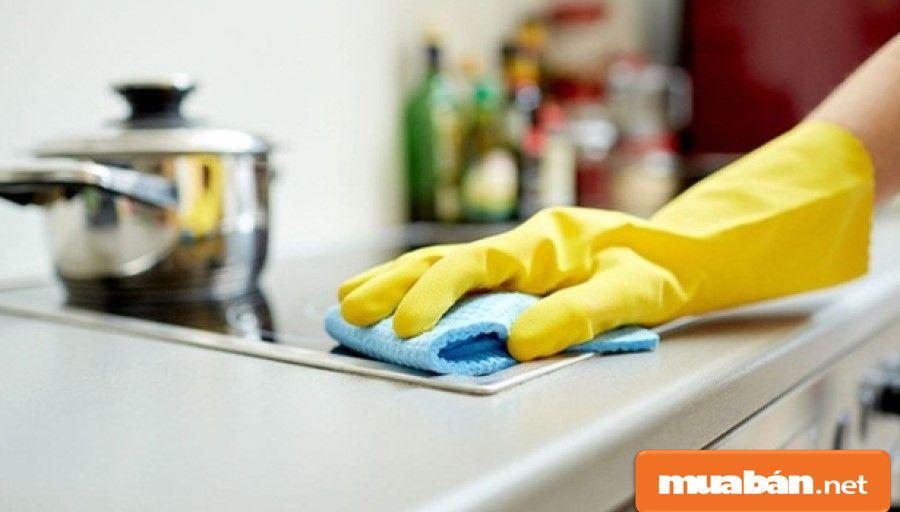 Luôn giữ vệ sinh gọn gàng cho bếp, thực hiện đúng các yêu cầu vệ sinh an toàn thực phẩm.