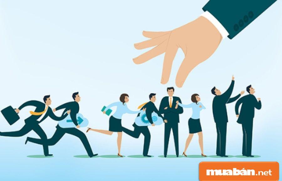 Quản lý nhân sự là người biết cách sắp xếp và sử dụng nguồn nhân lực hợp lý, hiệu quả.