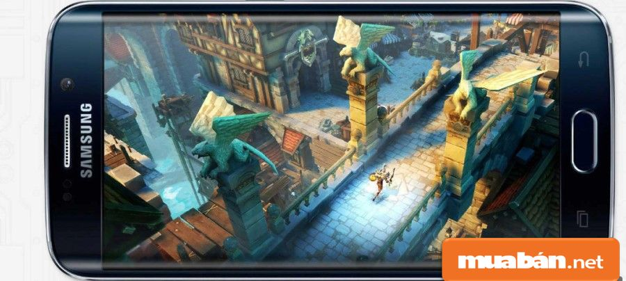 Galaxy S6 Edge còn được hỗ trợ thêm chip đồ họa (GPU) Mali-T760, giúp bạn chơi game đã hơn.