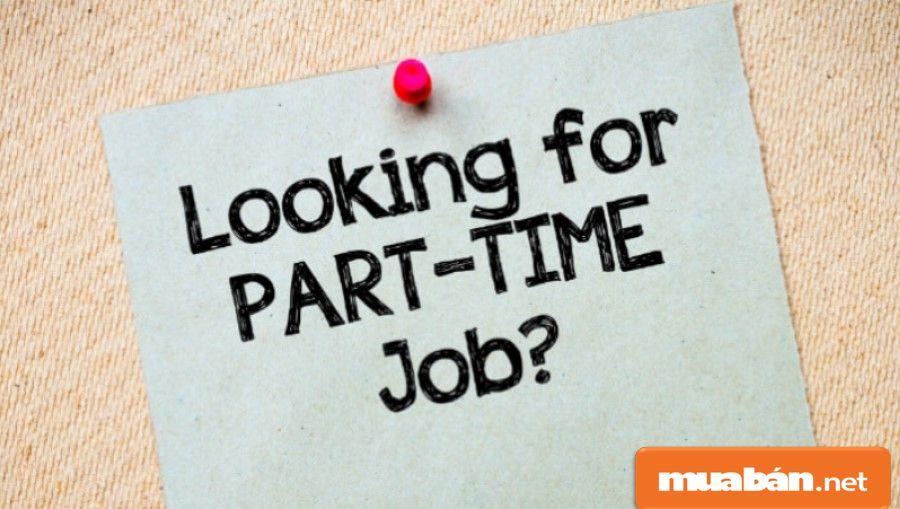 Nhu cầu tìm việc làm part time cho sinh viên TP.HCM ngày càng cao.