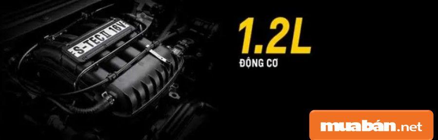 Chervrolet Spark Duo phiên bản số sàn 5, động cơ 1.2L bền bỉ, giúp xe chạy êm và tiết kiệm nhiên liệu.