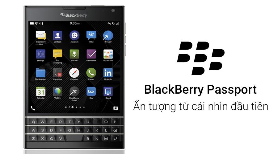 Blackberry Passport ấn tượng từ cái nhìn đầu tiên