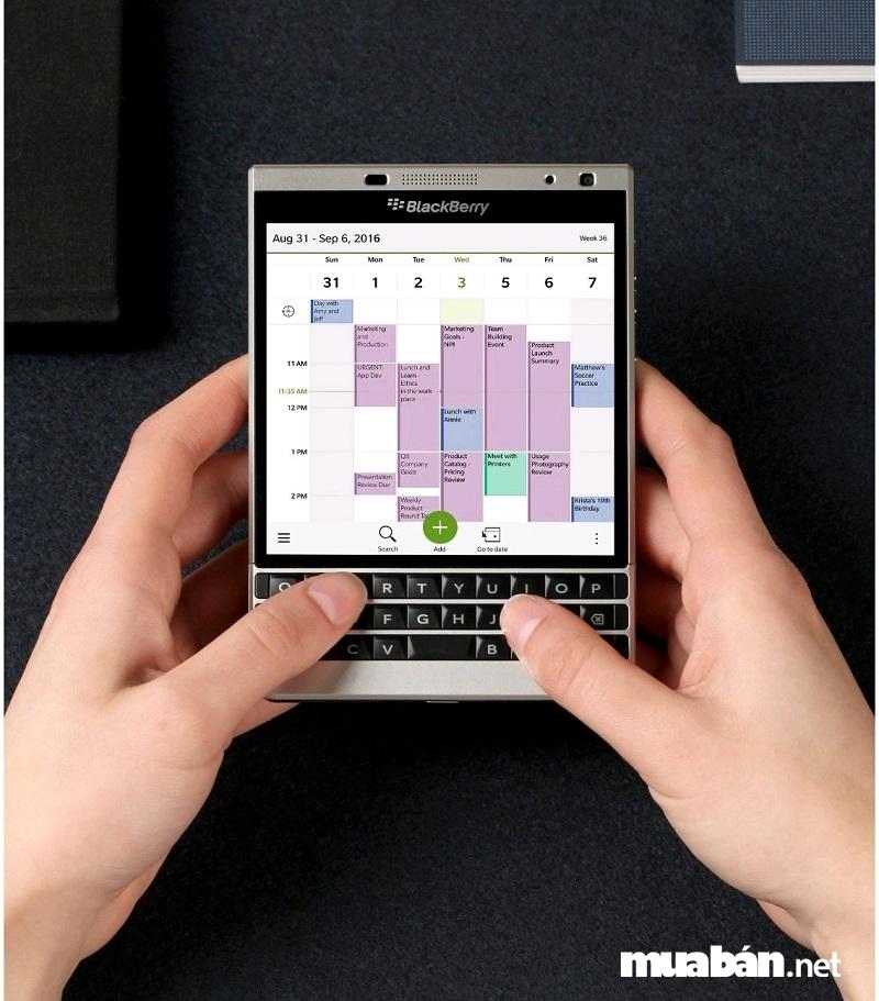 BlackBerry OS 10 lưu trữ thông tin an toàn
