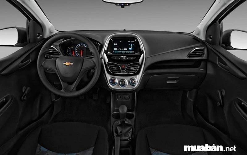 Nội thất Chevrolet Spark 2017