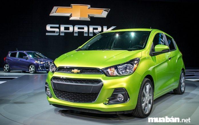 Chevrolet Spark 2017: Dòng hatchback 5 chỗ nhỏ gọn, giá rẻ chỉ từ 299 triệu đồng