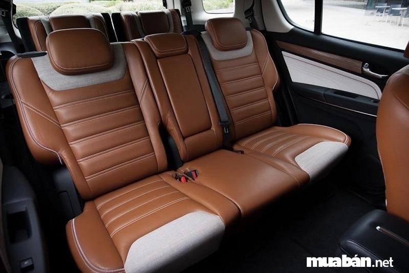 Ghế bọc da trên Chevrolet Trailblazer 2019