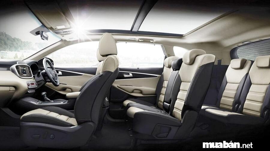 Kia Sorento 2019 có không gian nội thất rộng hơn 40 mm so với đối thủ Honda CRV 2019