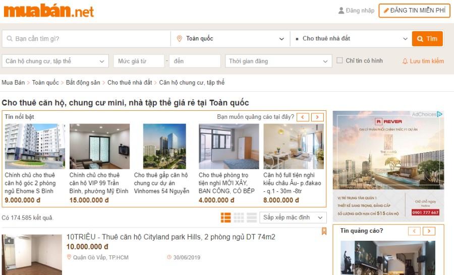 Hãy đầu tư nội dung quảng cáo căn hộ bạn cần cho thuê lên các kênh, diễn đàn hoặc các website trực tuyến...
