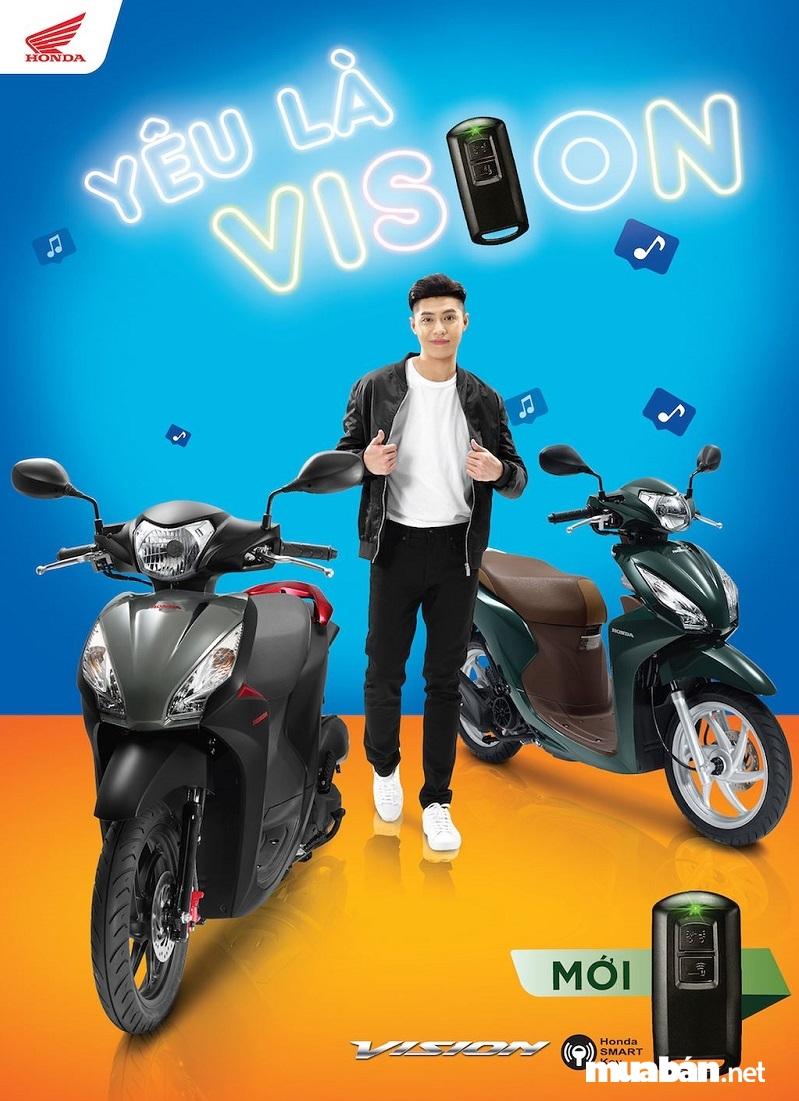 Honda Vision phiên bản 2018