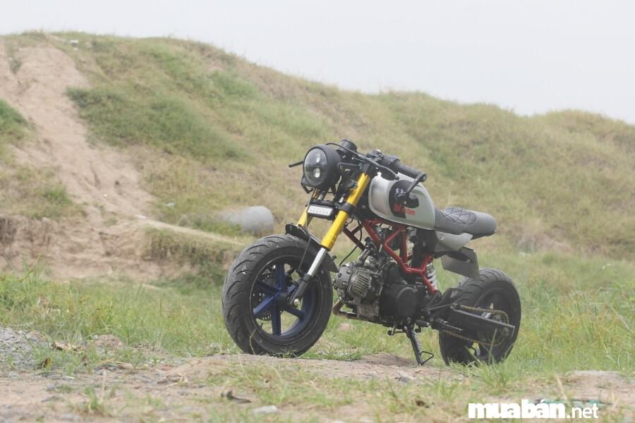 Động cơ Win 100cc được giữ nguyên