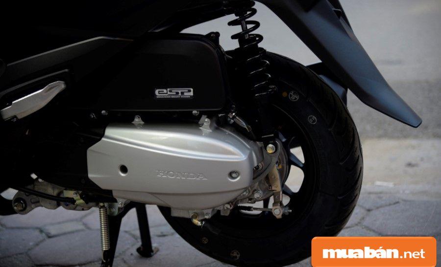 Honda thiết kế lốp không xăm giúp an toàn hơn, vì lốp không xăm sẽ có khả năng giữ hơi tốt hơn lốp thường.