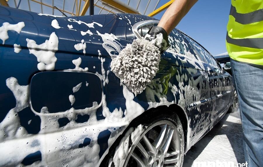 Để bán xe hơi giá cao hơn hãy rửa xe thường xuyên