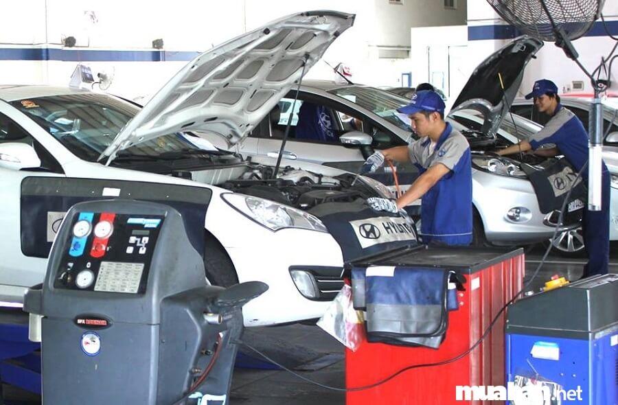 Bảo dưỡng xe hơi thường xuyên