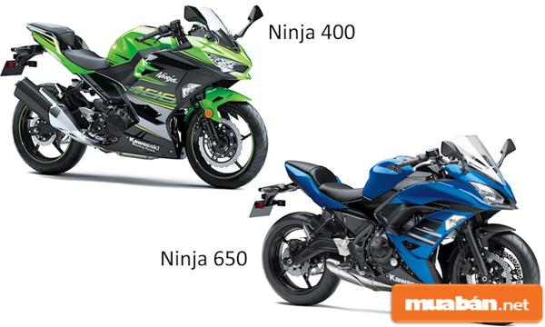 Mô tô Ninja 400, 650 - Dành cho người mê Sport