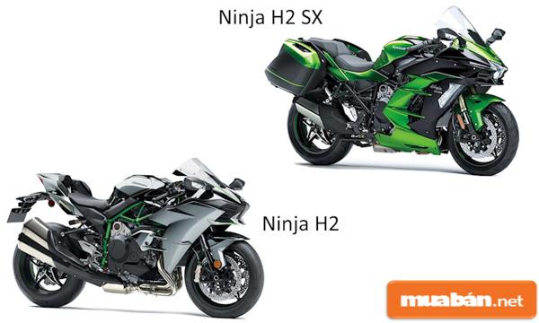 Môtô Ninja H2, H2 SX - Siêu mô tô