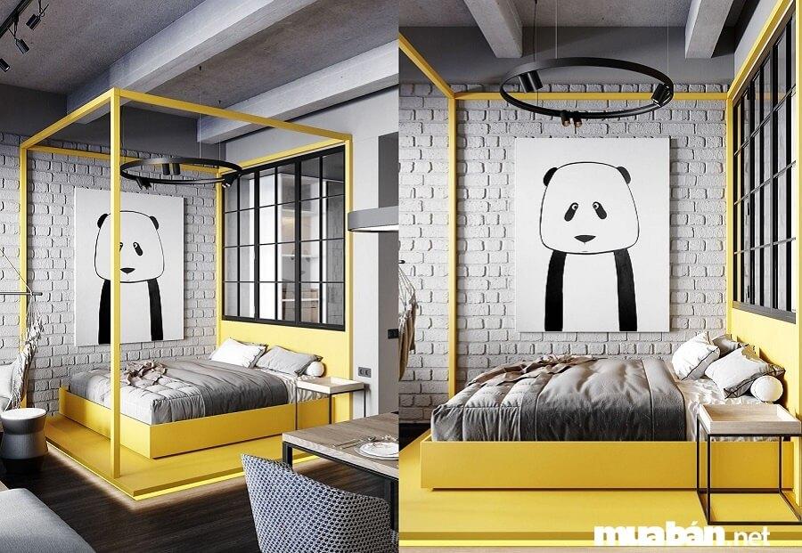 Giá bán căn hộ 1 phòng ngủ (53 m2) từ 2,5 tỷ đồng.