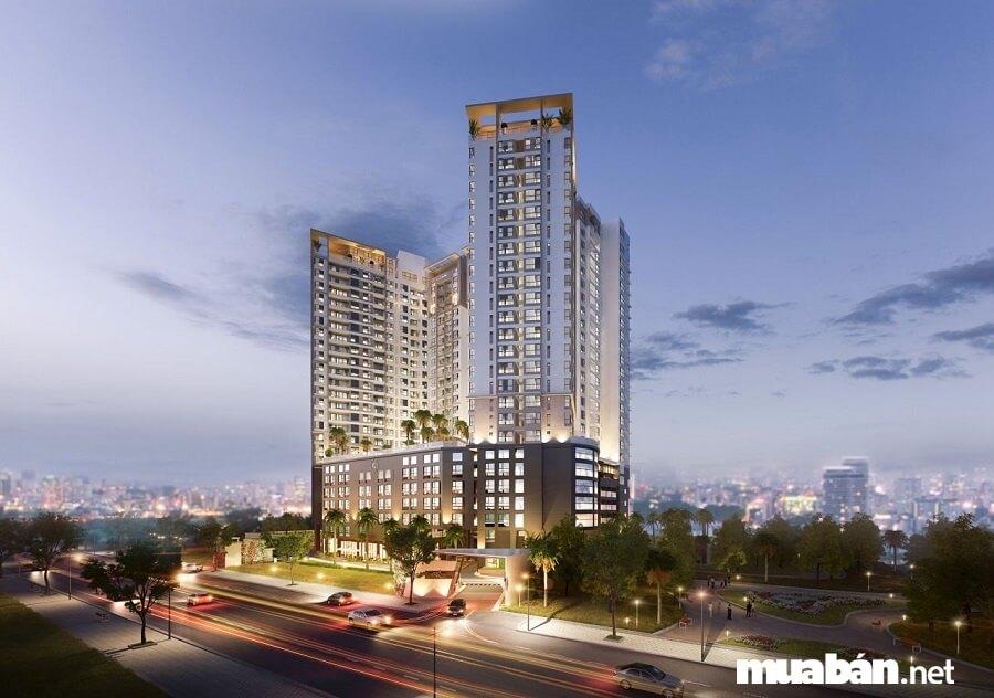 Dự án Masteri Millennium gồm căn hộ, Officetel, Penthouse, Shophouse.