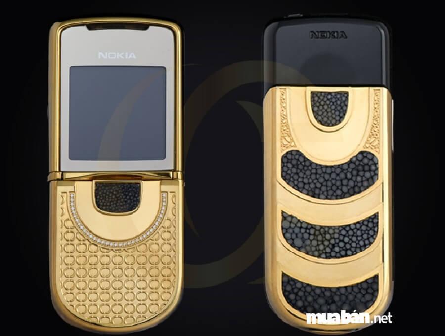 8800 Gold - siêu phẩm đình đám, sang chảnh của Nokia