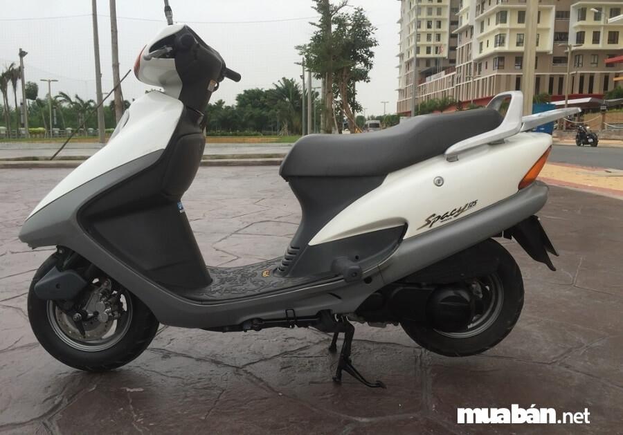 Khối động cơ 125cc của Spacy cho khả năng tăng tốc tốt, tiết kiệm xăng.