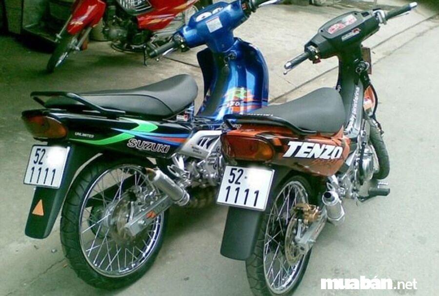 Cặp Suzuki RG Sport 110 giá 140 triệu đồng
