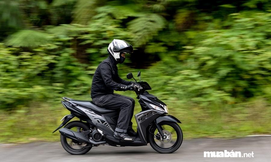 Yamaha Mio M3 2019 sở hữu động cơ 125cc, SOHC, 4 thì, làm mát bằng không khí.