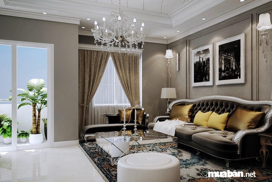 Grand Riverside có các loại diện tích đa dạng từ 49 – 139m2 (1 – 4 phòng ngủ).