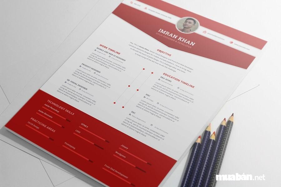 CV xin việc phải cung cấp đầy đủ thông tin cơ bản của bản thân người ứng tuyển.