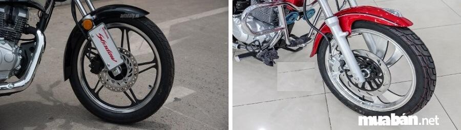 """Shadow 150 và Suzuki GZ150-A đều là những mẫu xe Cruiser rất """"ăn khách"""" tại Việt Nam."""