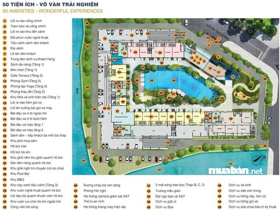 Có đến 50 tiện ích nội khu tại dự án căn hộ Jamila quận 9, TP.HCM.