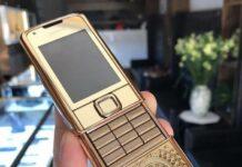 Nokia 8800 Gold - mẫu điện thoại khẳng định đẳng cấp người dùng
